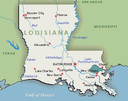 USA / Louisiana (LA)
