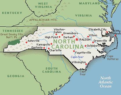 Usa North Carolina Nc